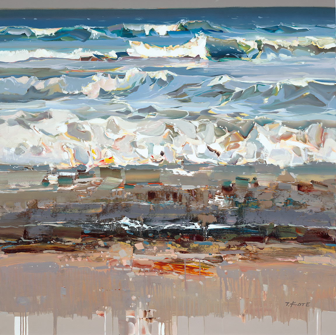 """Listen to the Waves"" by Josef Kote"