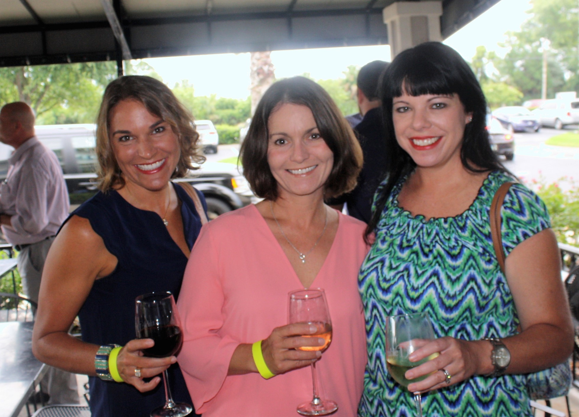 Jennie Rogers, Amy Bonanno and Danielle Woodring