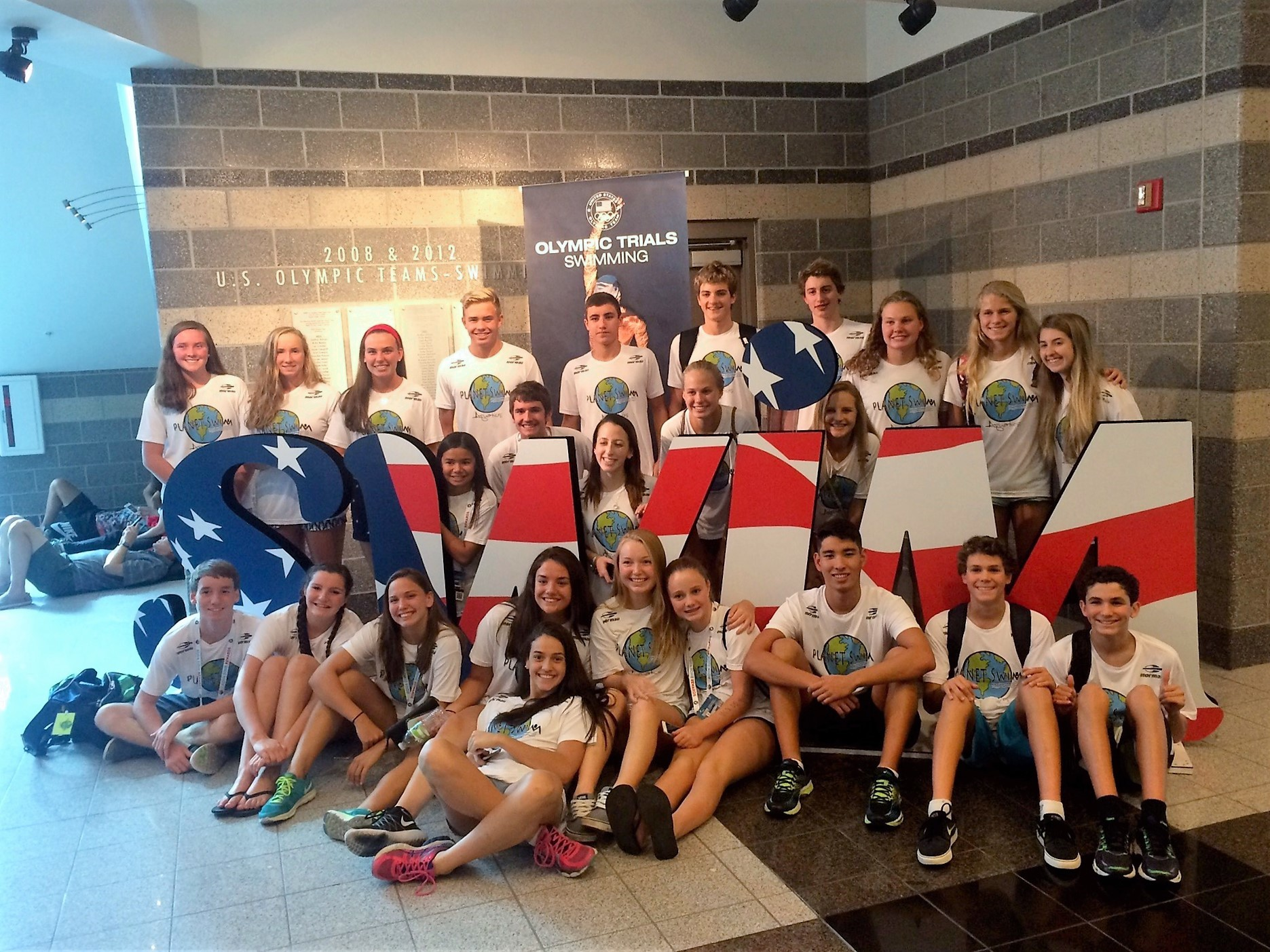 Local swimmers attend camp at Olympic swim trials | The