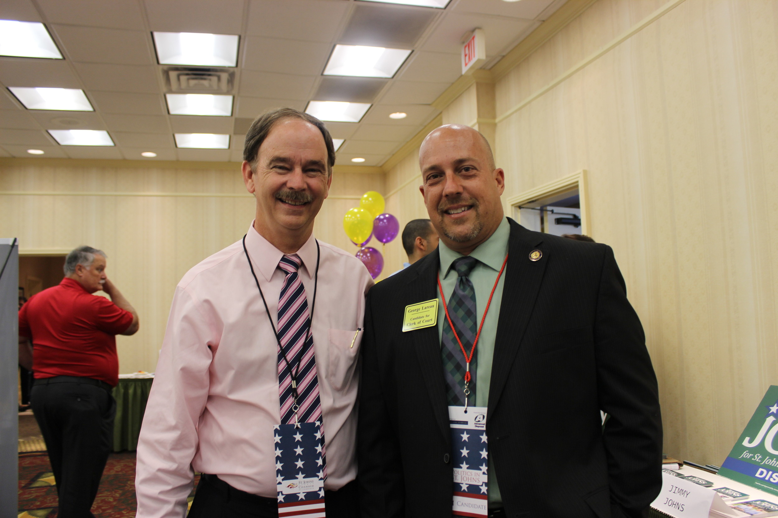 State Rep. and 4th Congressional District Candidate Lake Ray and Clerk of Circuit Court Candidate George Lareau