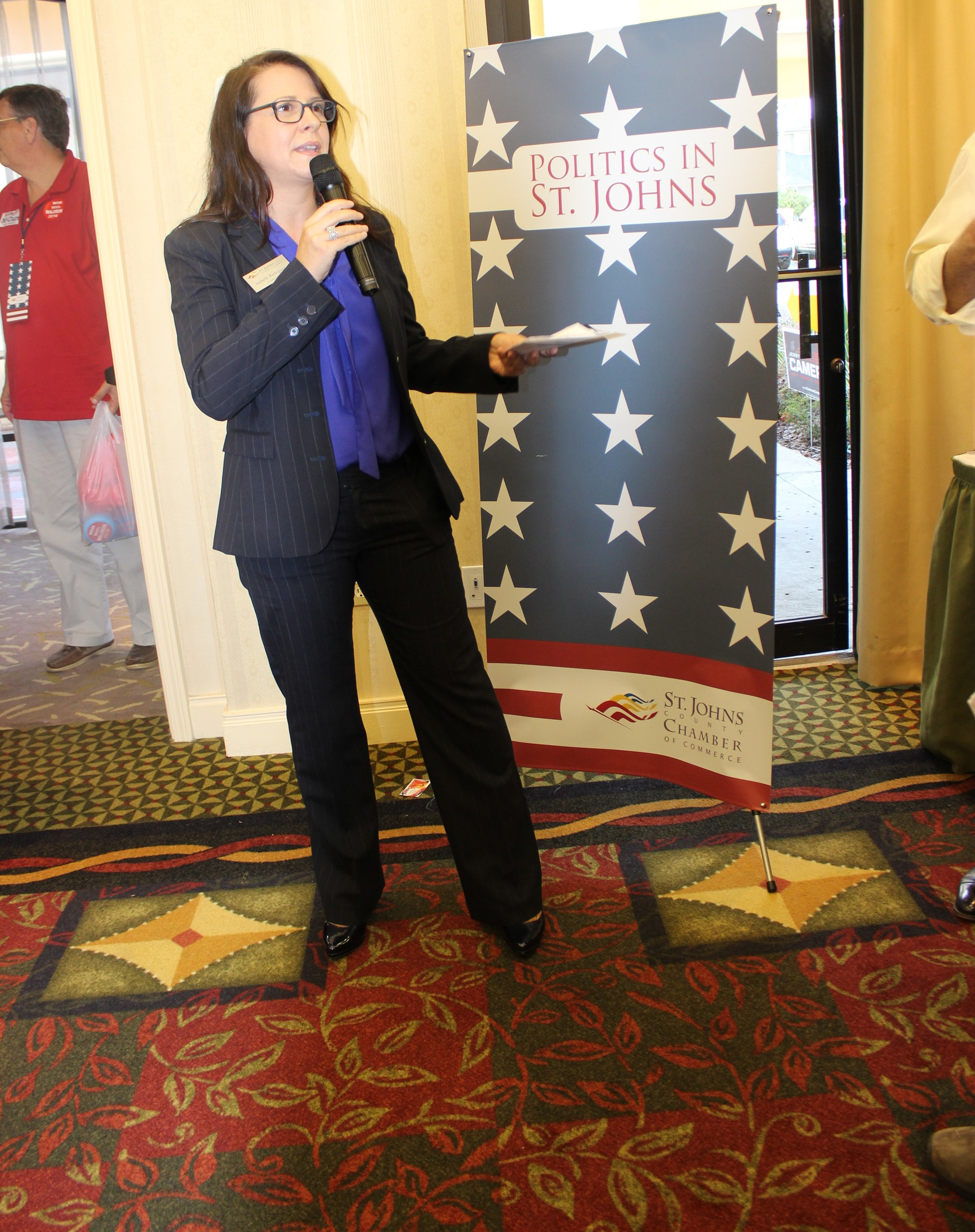 St. Johns County Chamber of Commerce President and CEO Isabelle Rodriguez
