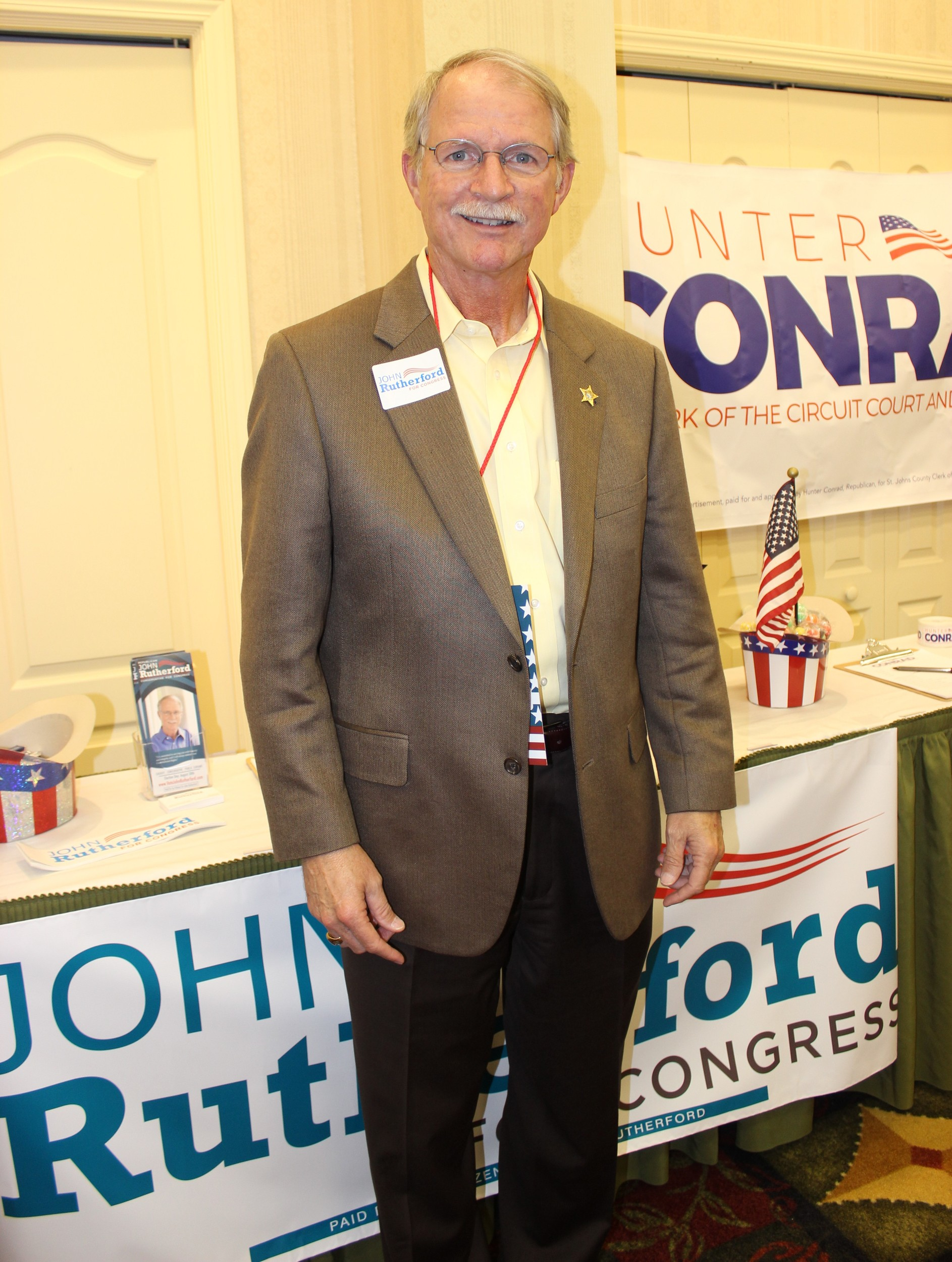 Former Jacksonville Sheriff and 4th Congressional District Candidate John Rutherford