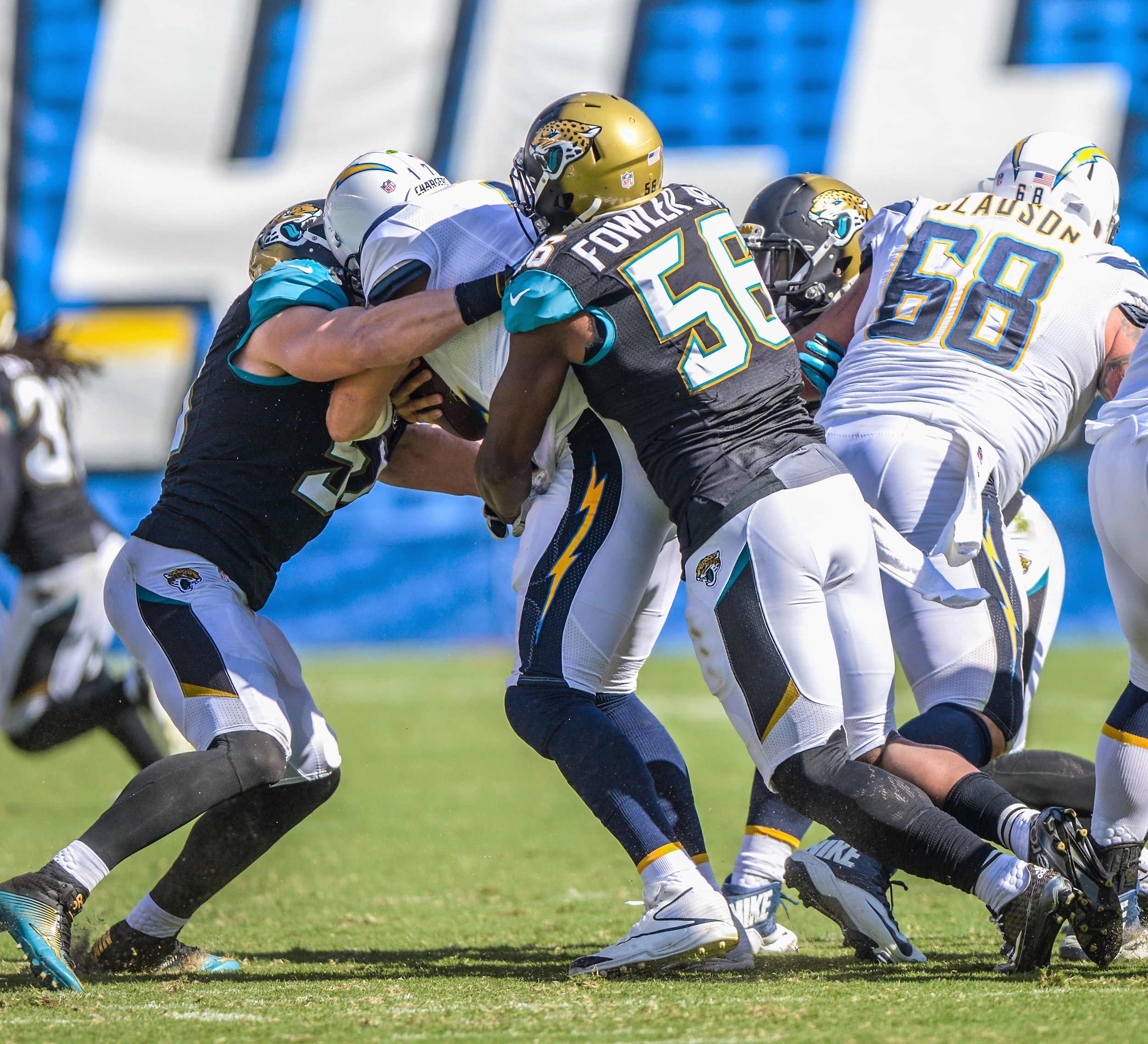 San Diego Chargers Defense: Chargers' Rivers Carves Up Jacksonville Jaguars In 38-14