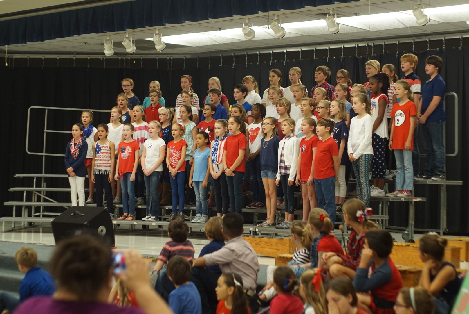 Ocean Palms Elementary Presents A Musical Show Of Thanks
