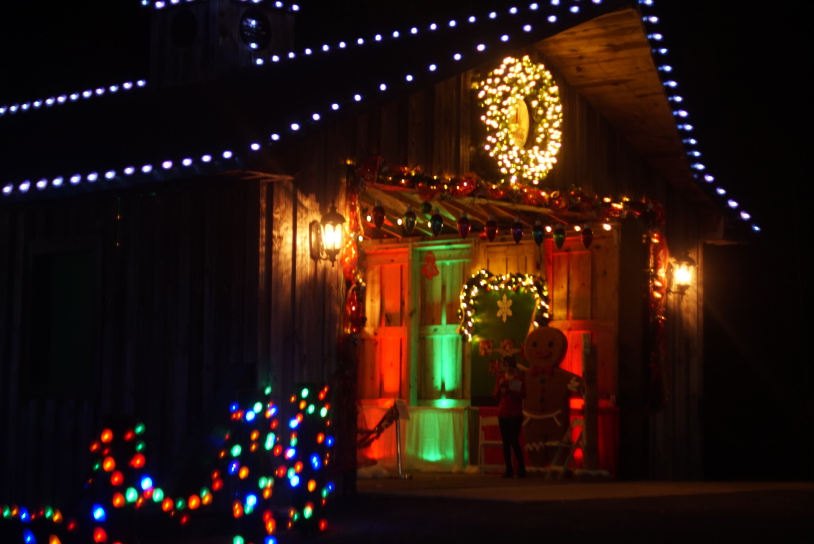 enchanted christmas village opens doors for its first year the