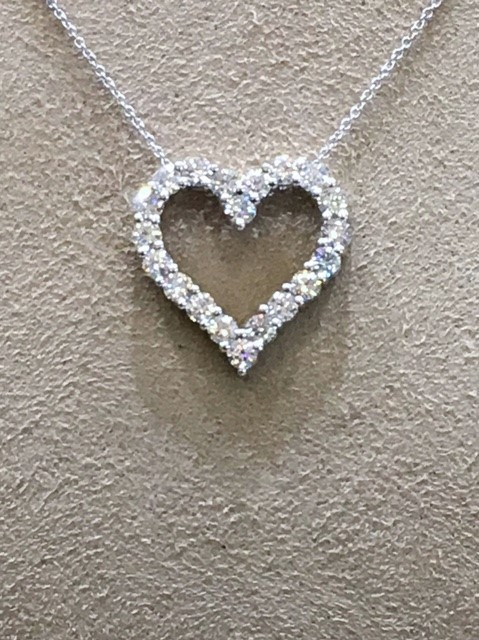 Women with heart beard s jewelry creates special necklace for Beards jewelry jacksonville fl