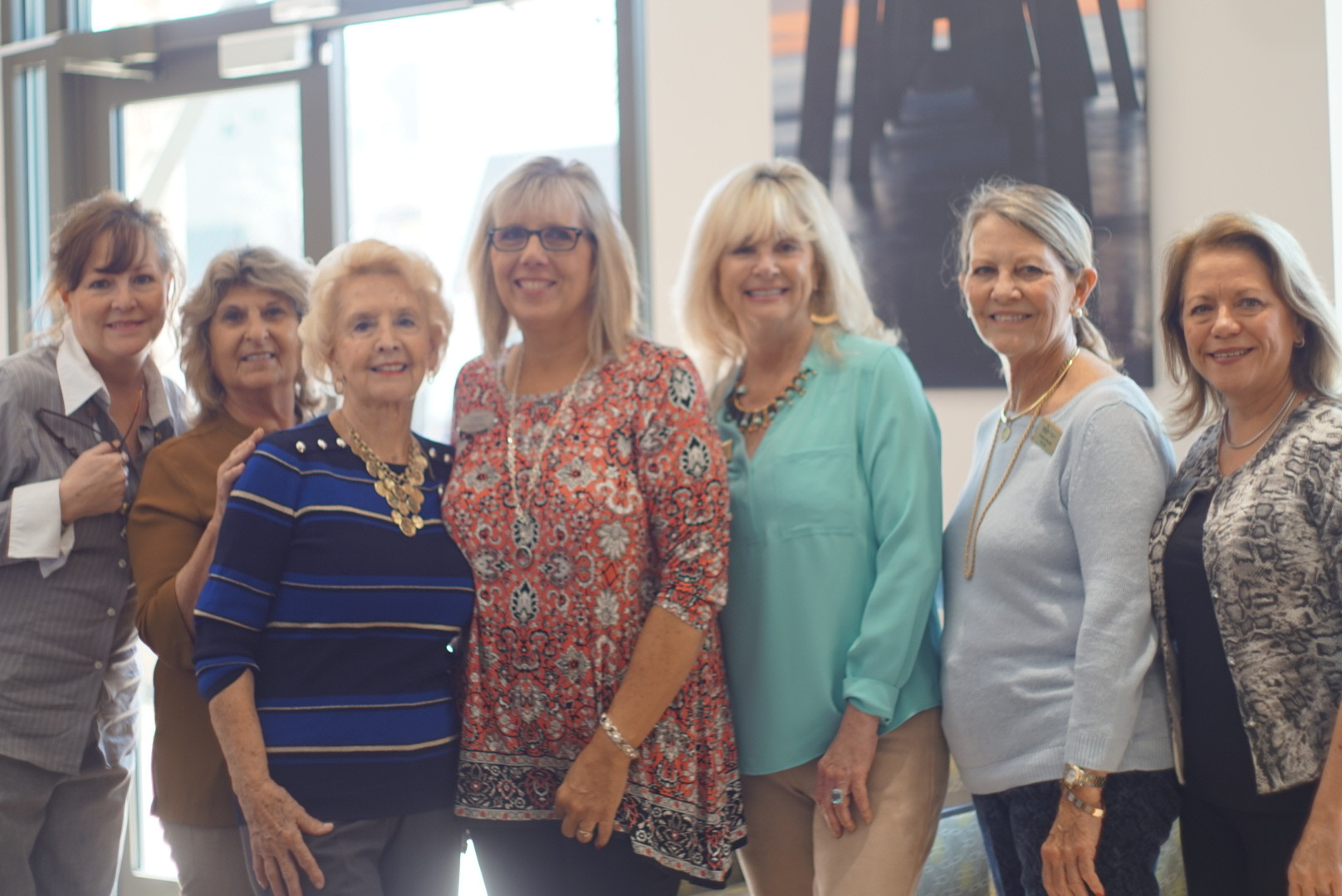 Berkshire Hathaway HomeServices Florida Network Realty agents Karen Feliciano, Fran Gormon, Sharon Leahy, Pam Belcher, Karen Franklin, Carolyn McLean and Cheryl Dolan.