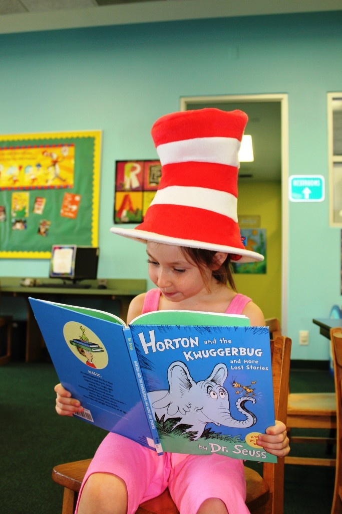 Read Across America with Dr. Seuss!