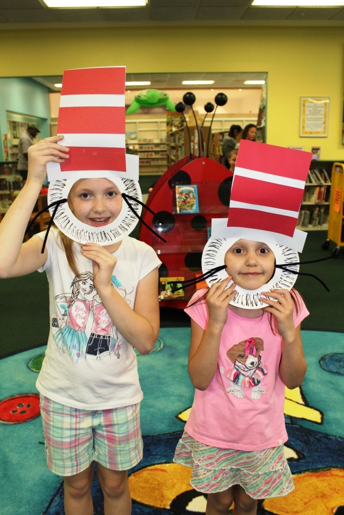 Sisters celebrate Dr. Seuss and Read Across America!
