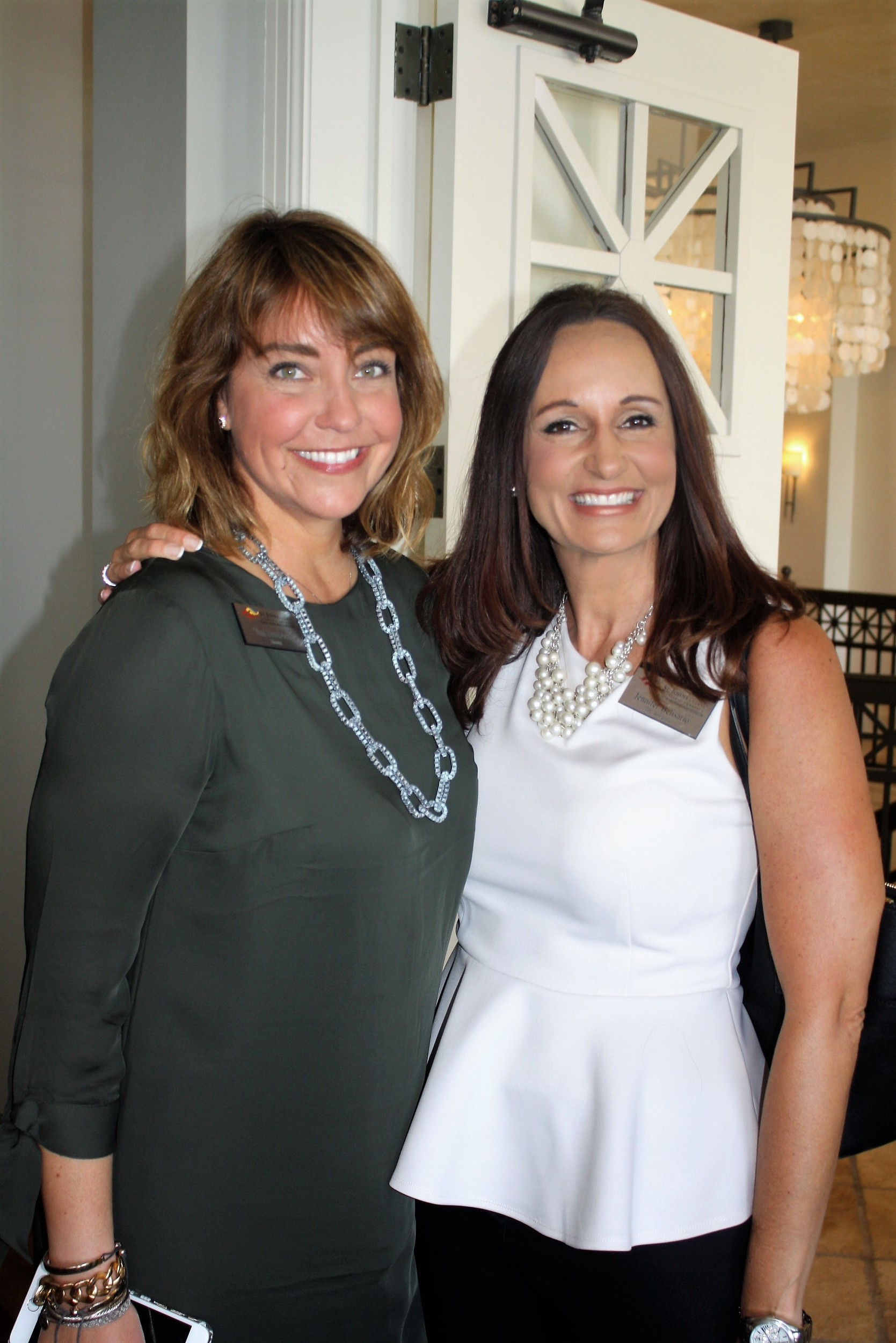 Toni Boudreaux and Jennifer Belisario