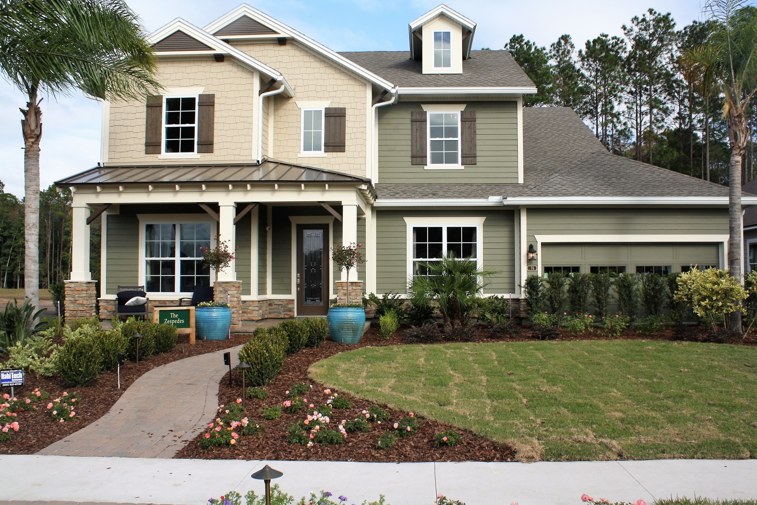 Nocatee offerings: Home buyers can choose from dozens of distinct neighborhoods and home styles, like this home in Nocatee's Twenty Mile community.