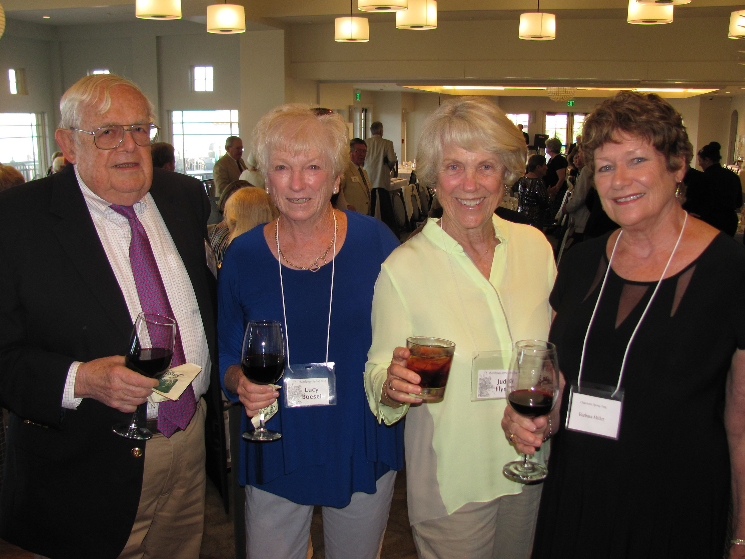 Bud and Lucy Boesel, Judy Flynn and Barbara Miller