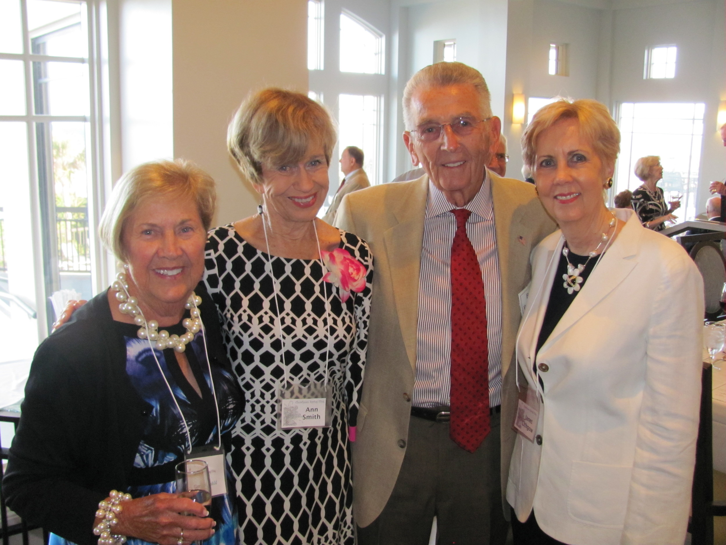 Ginny Roemhild, Ann Smith, Bud Roemhild and Janet Lithgow
