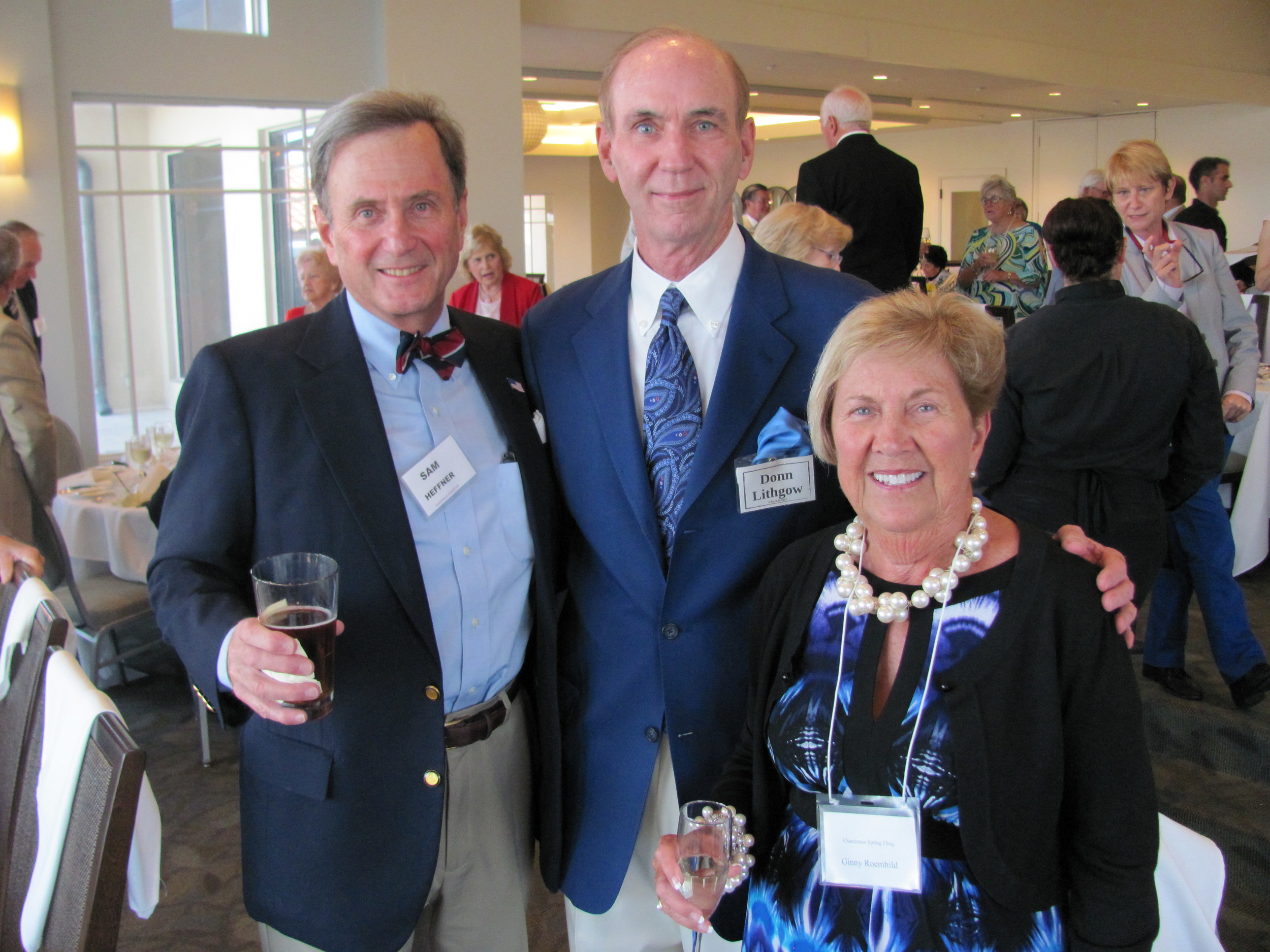 Sam Heffner, Donn Lithgow and Ginny Roemhild