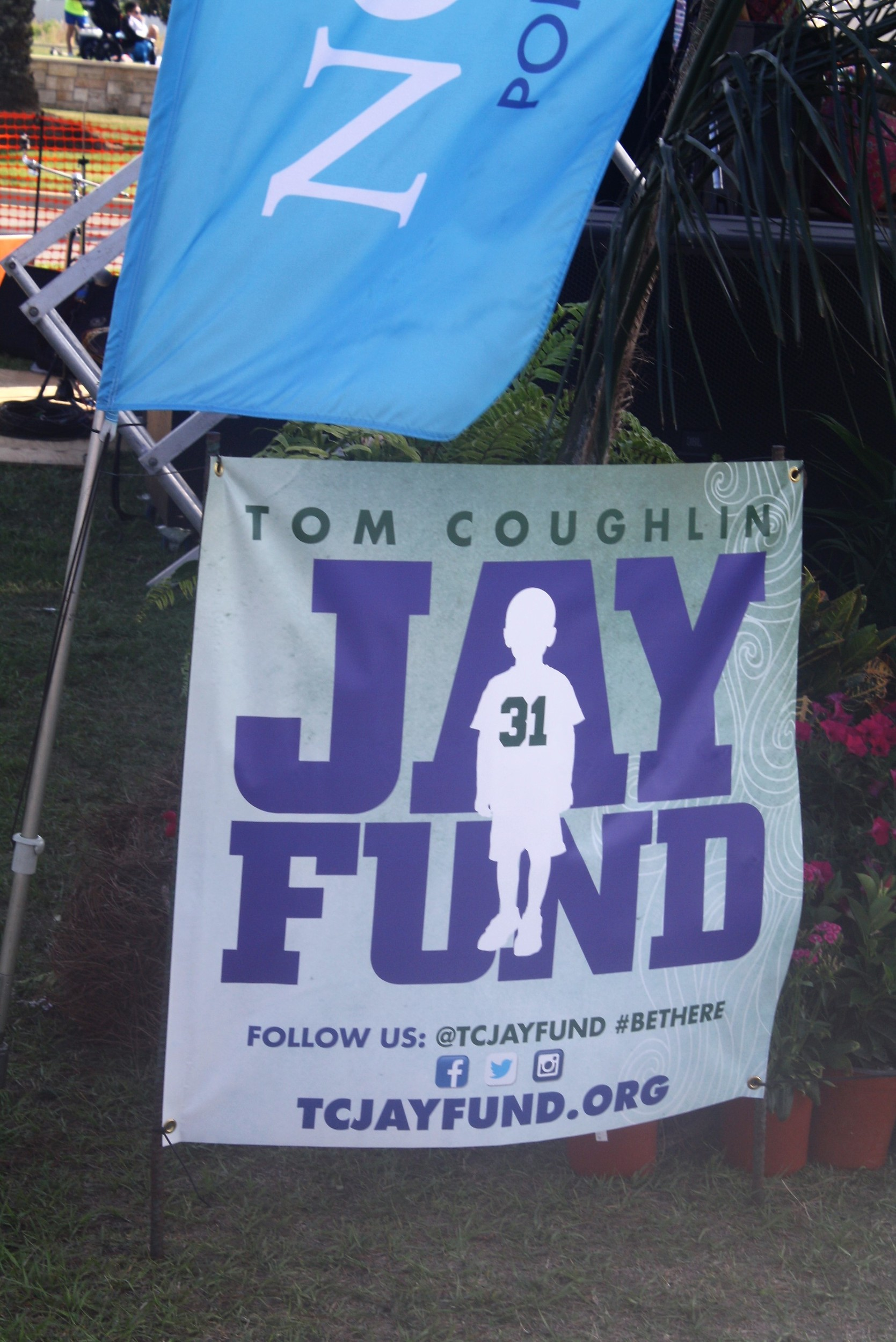 A portion of the proceeds from Roscolusa benefits The Tom Coughlin Jay Fund