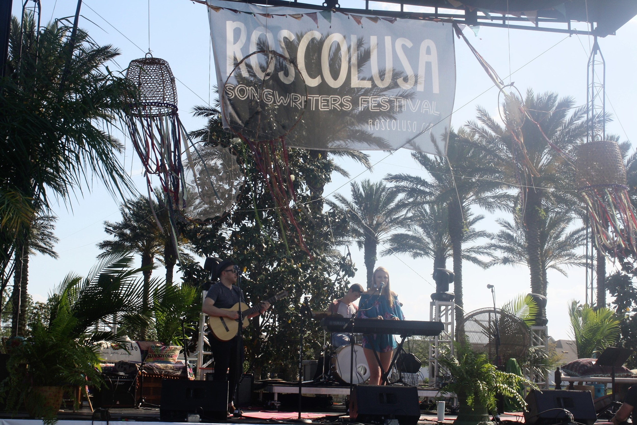 The 6th annual Roscolusa Songwriters Festival returned to Nocatee Saturday.