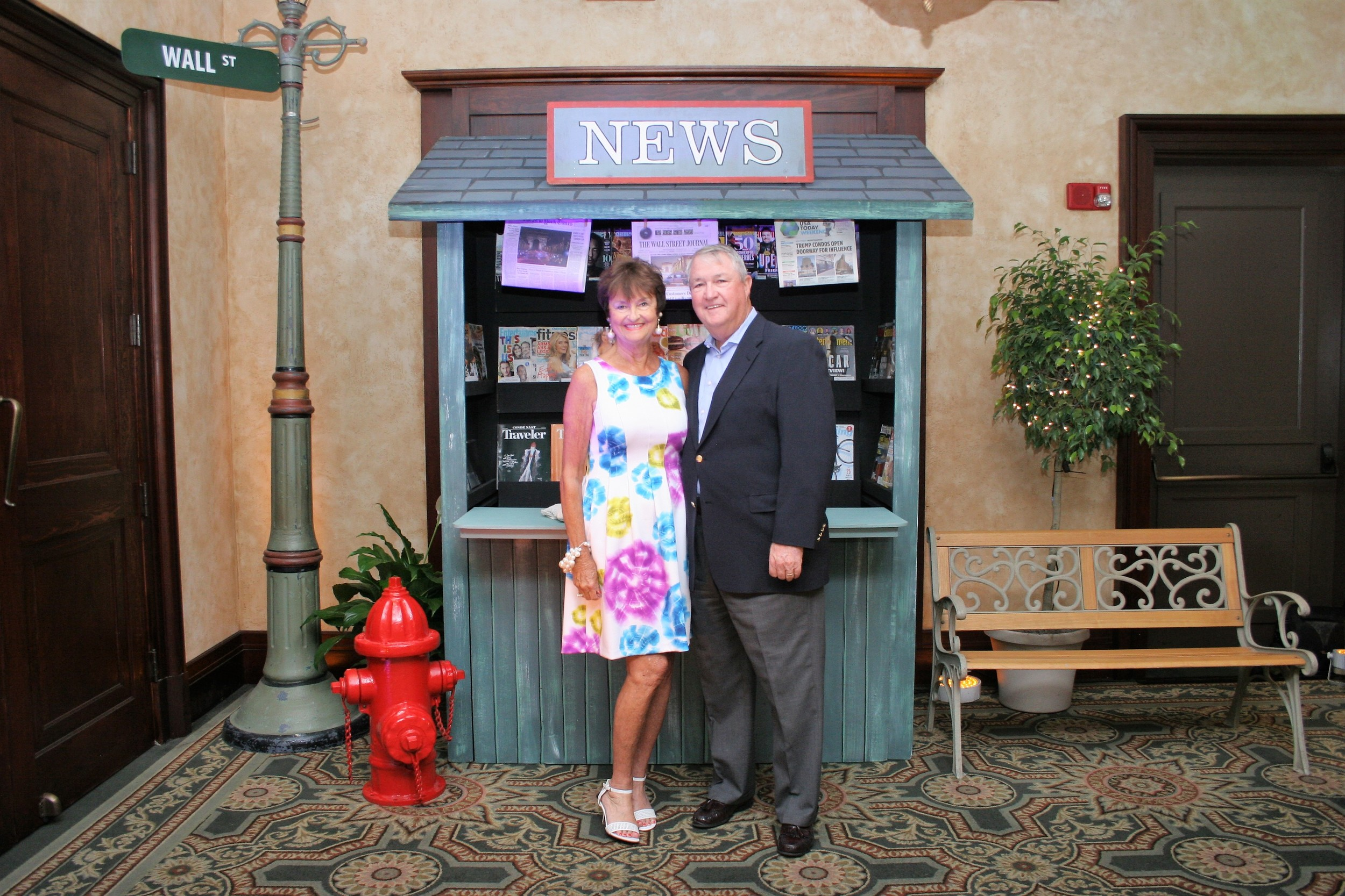 Ponte Vedra residents Beverley and Bill Beasley