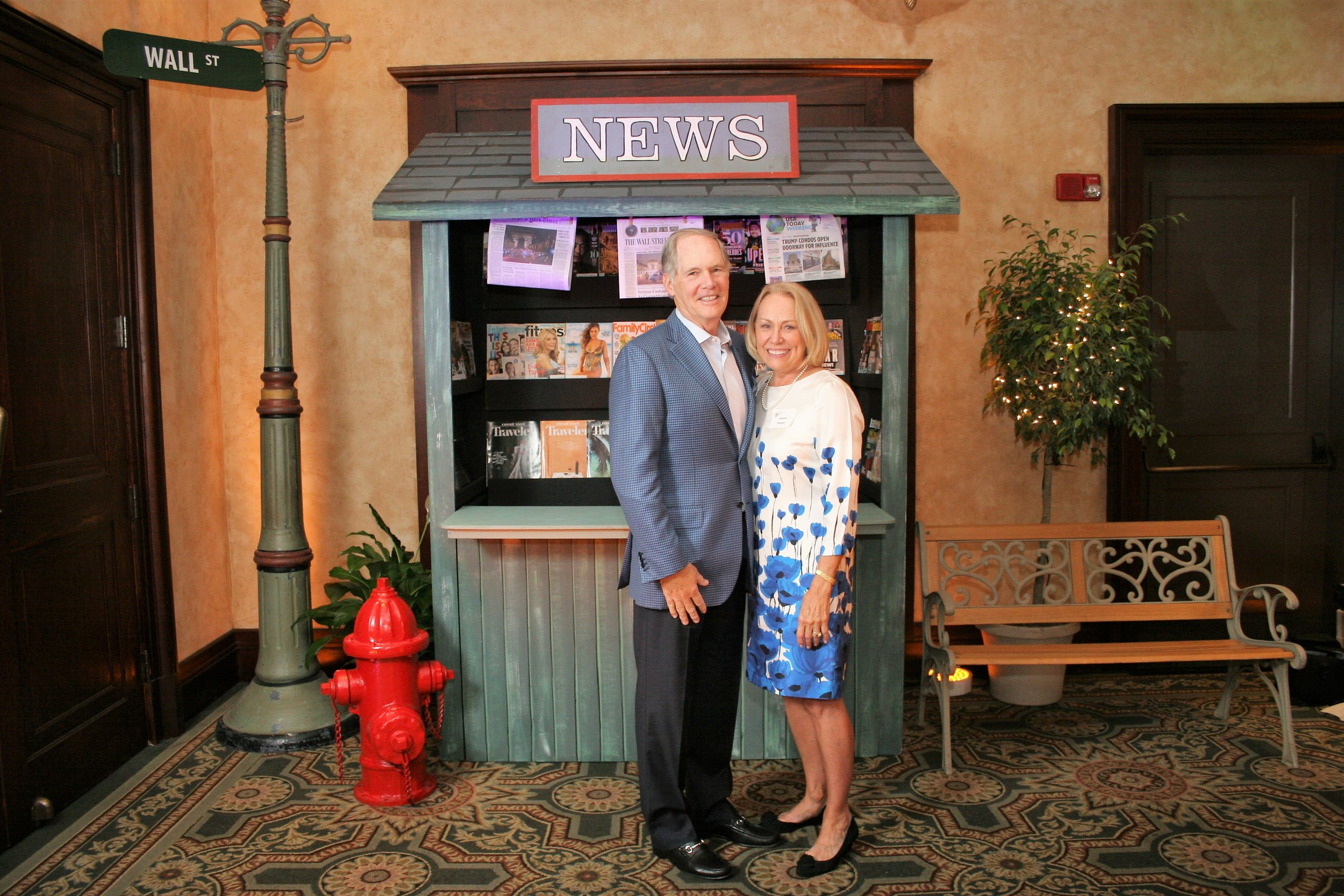 Ponte Vedra residents Tom and Jeanne Rueger