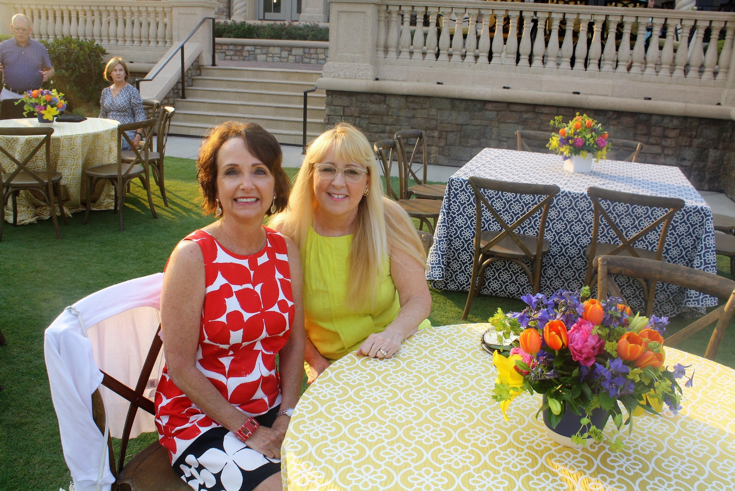 Donna London and Mary Hathy