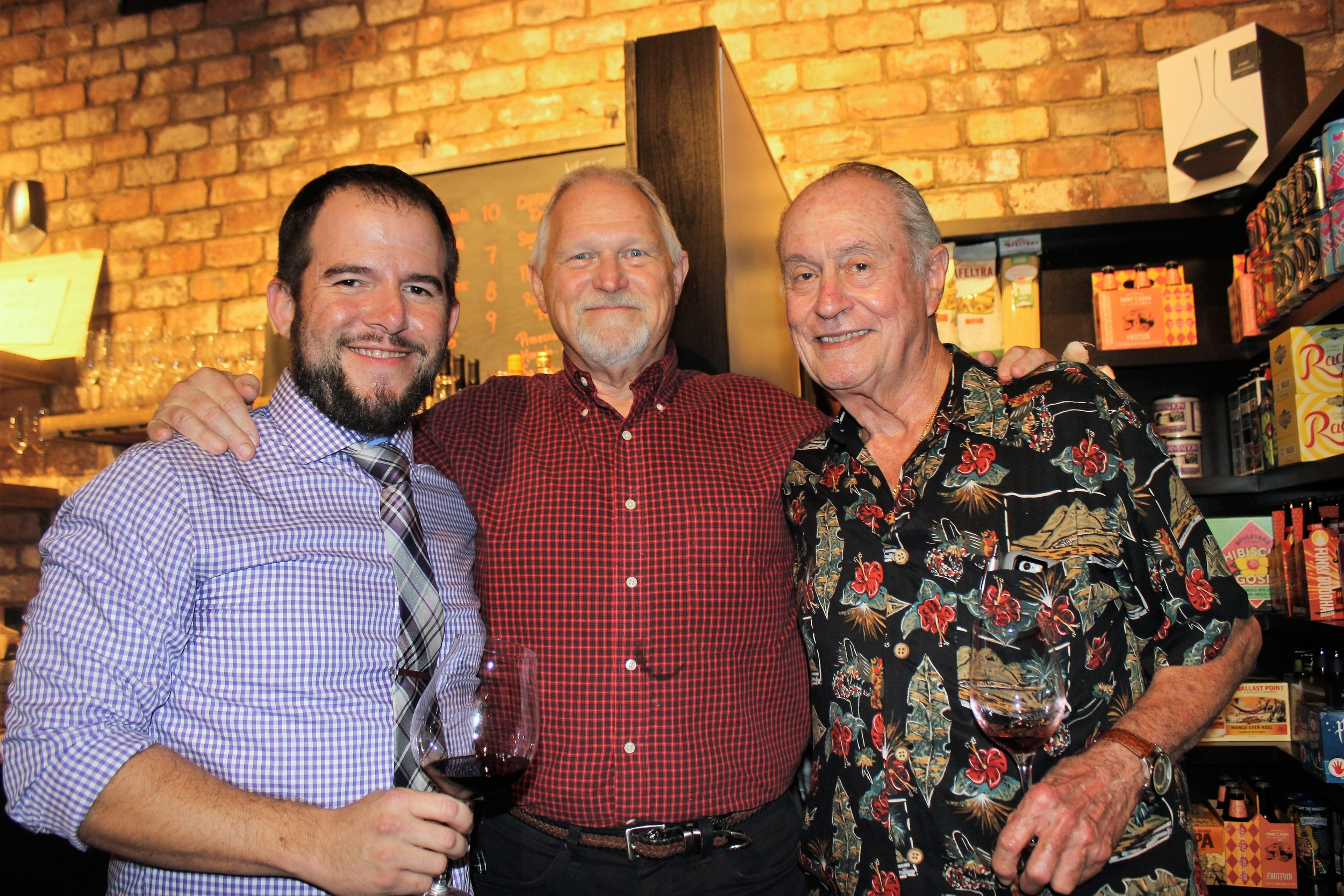 The Legends of Wine Steve Lourie Allen Horne and Manuel Rey