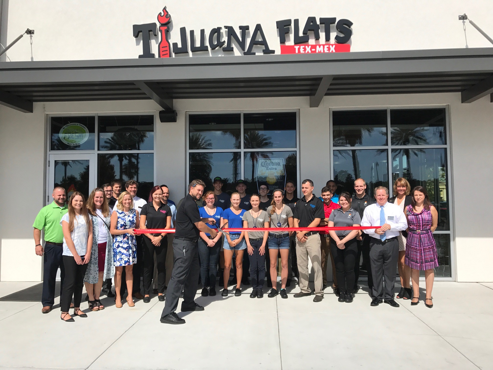 Tijuana Flats holds a ribbon cutting ceremony for its new Nocatee location June 23. The restaurant officially opened for business June 26.