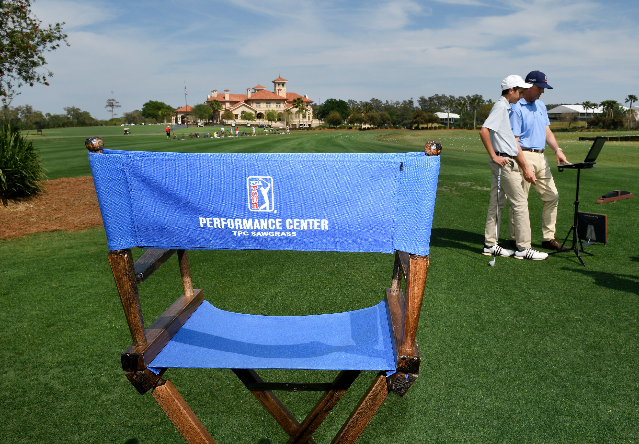 The performance center is available for golfers of varying ages and skill levels.