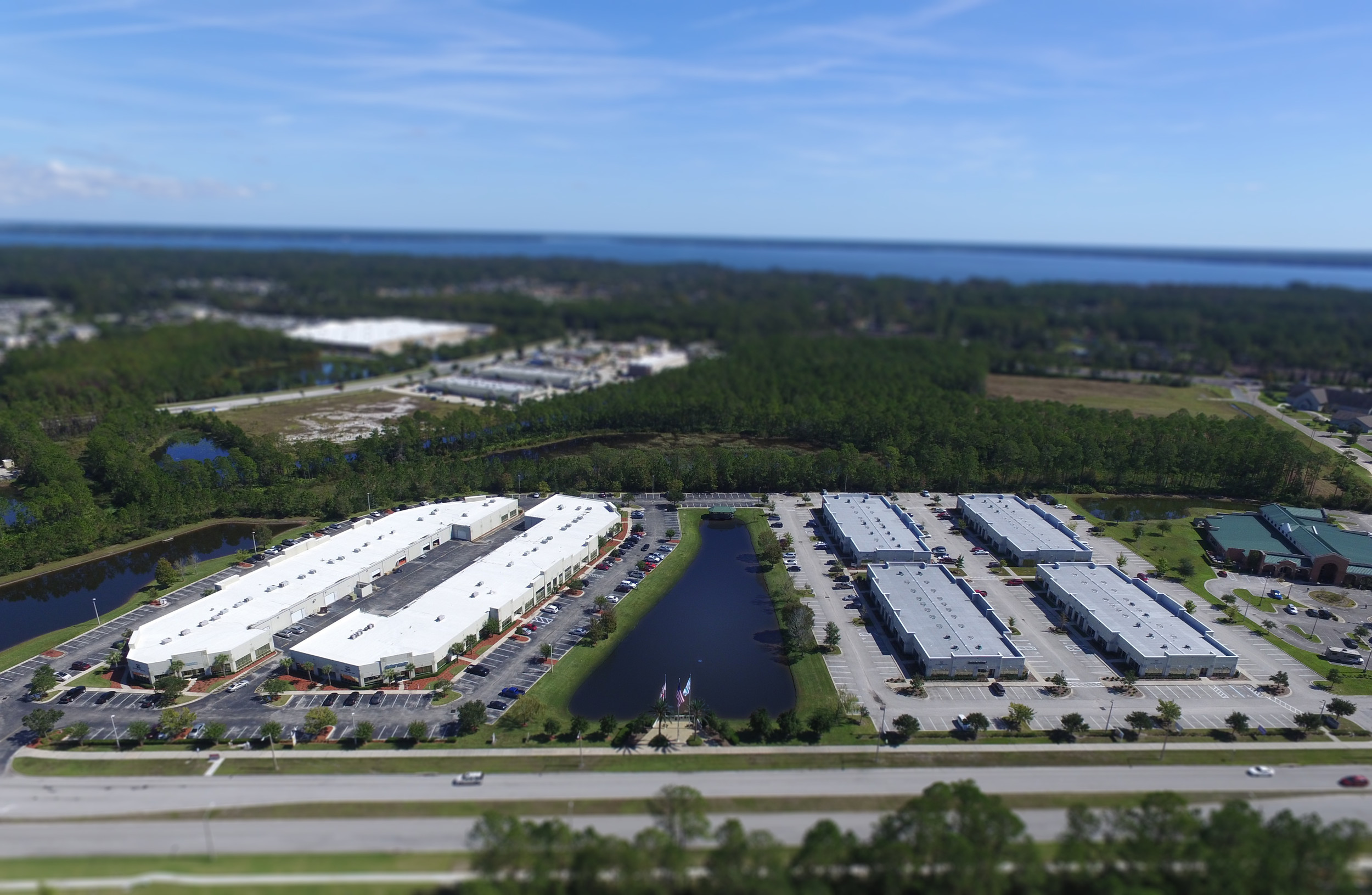 Located 20 miles southwest of downtown Jacksonville, Fleming Island Business Park consists of 143,669 square feet within six single story office buildings.