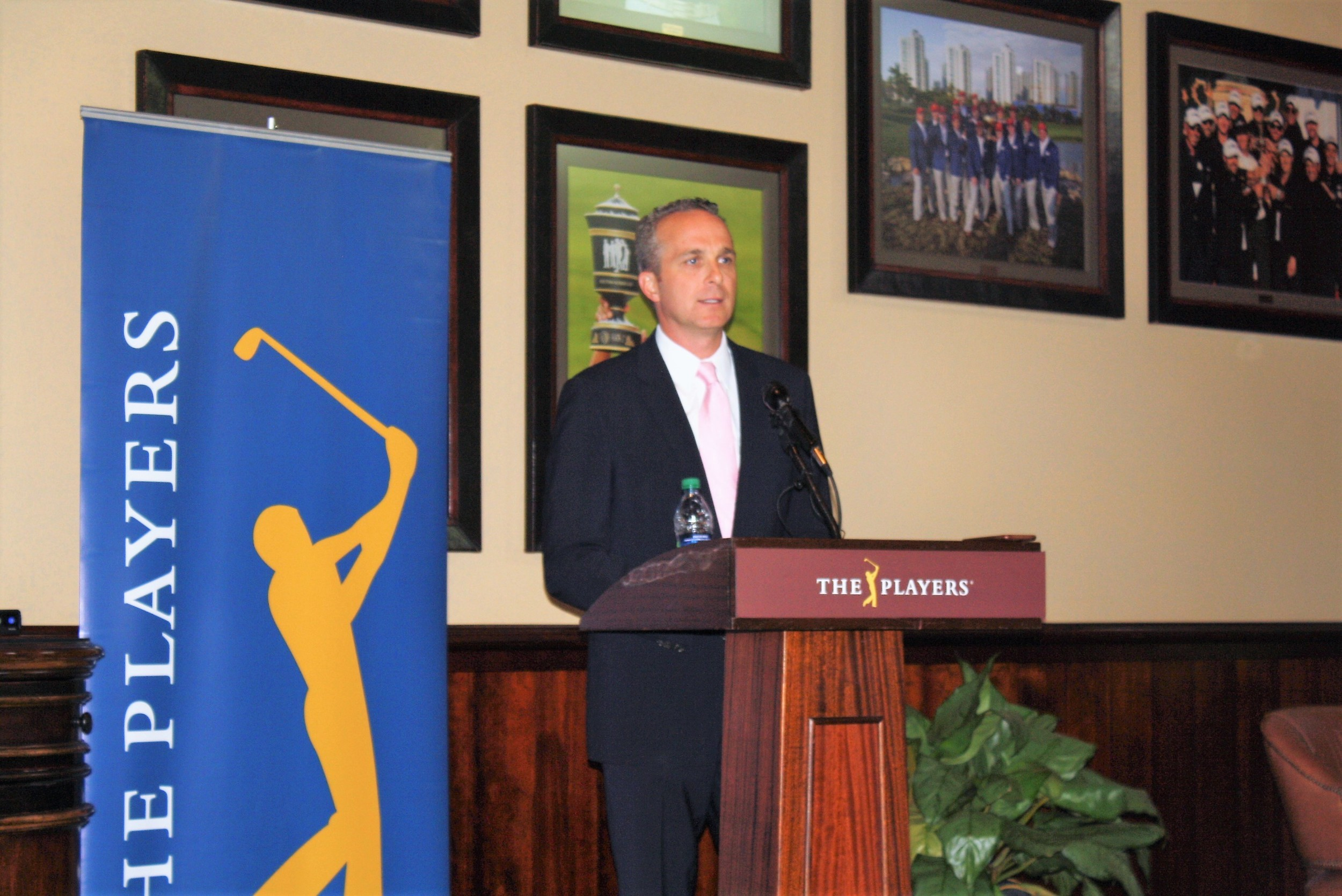 THE PLAYERS Championship Executive Director Jared Rice