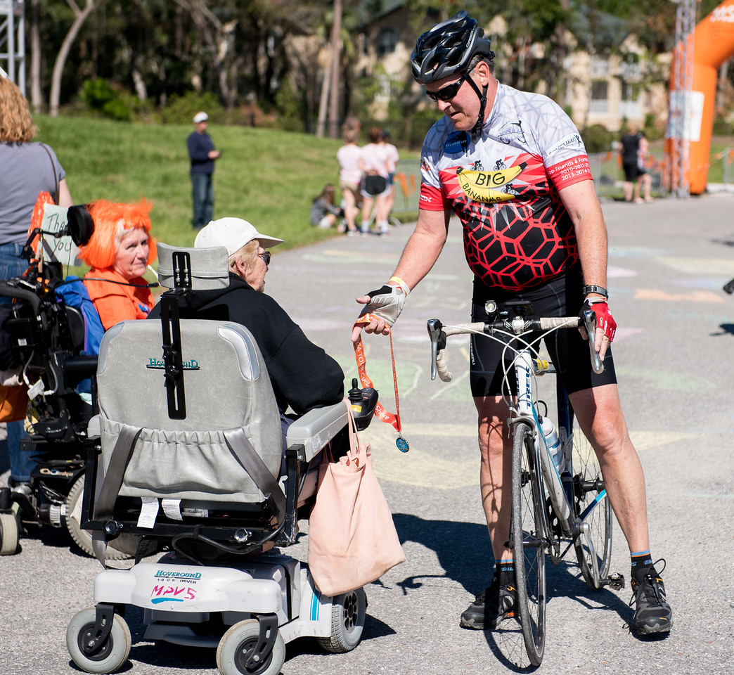 Ponte Vedra Beach resident Murray Beard rides for Big Bananas team, which helps those suffering from multiple sclerosis through the annual Bike MS event.