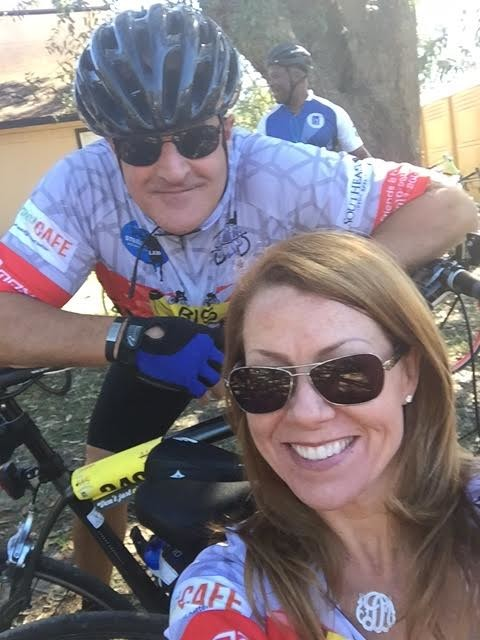 John and Danielle Faldetta of Ponte Vedra Beach are members of the Big Banana team for Bike MS.