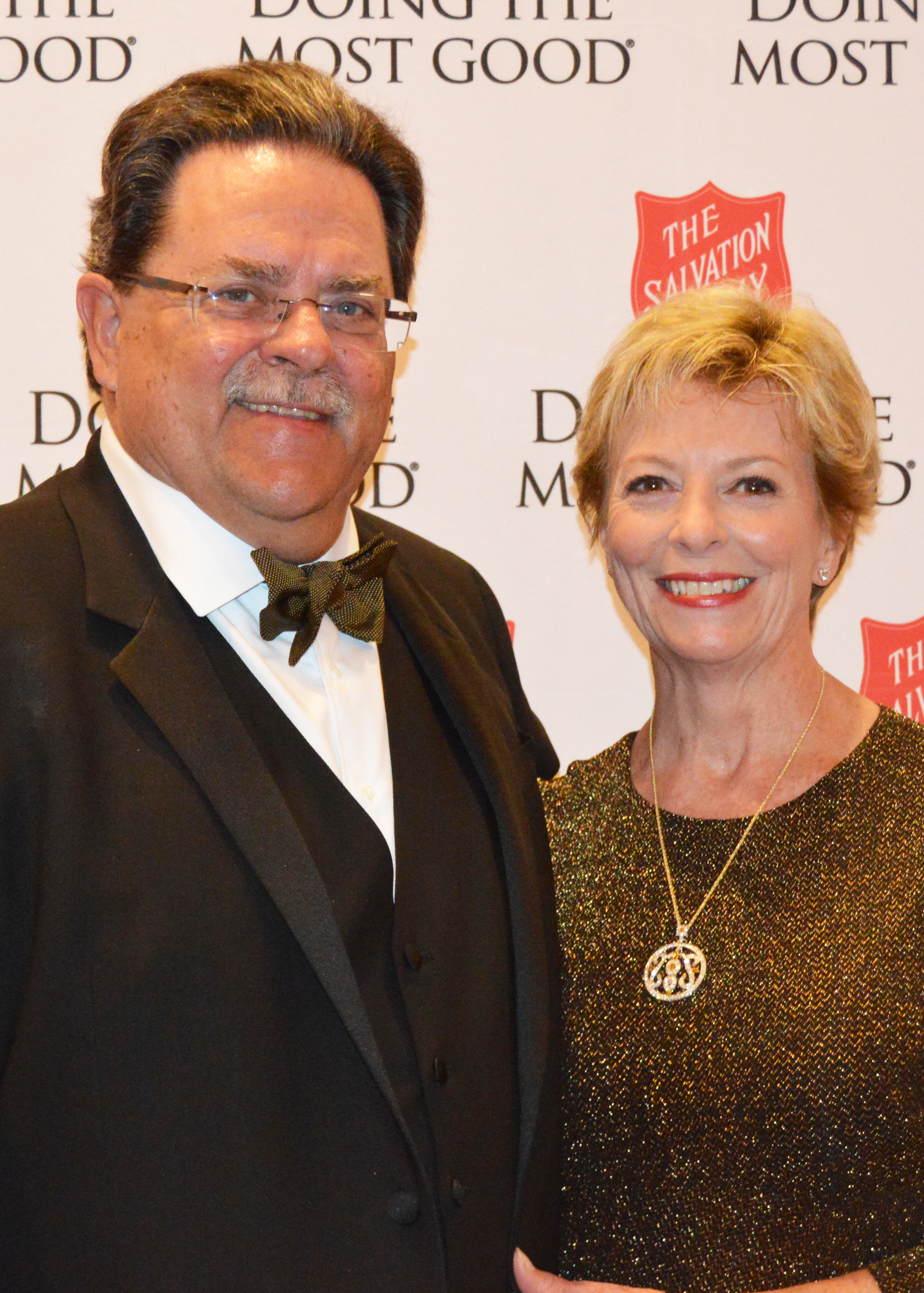 Local philanthropists Michael Ward and Jennifer Glock are the honorary chairs of the 2017 Red Shield Ball.