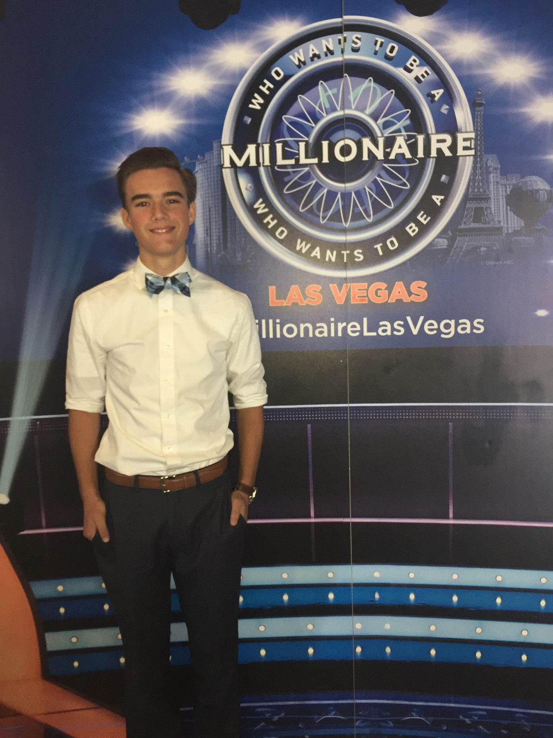 "Ponte Vedra high school student Chase Magnano will appear on ""Who Wants to be a Millionaire"" Oct 3 and 4."