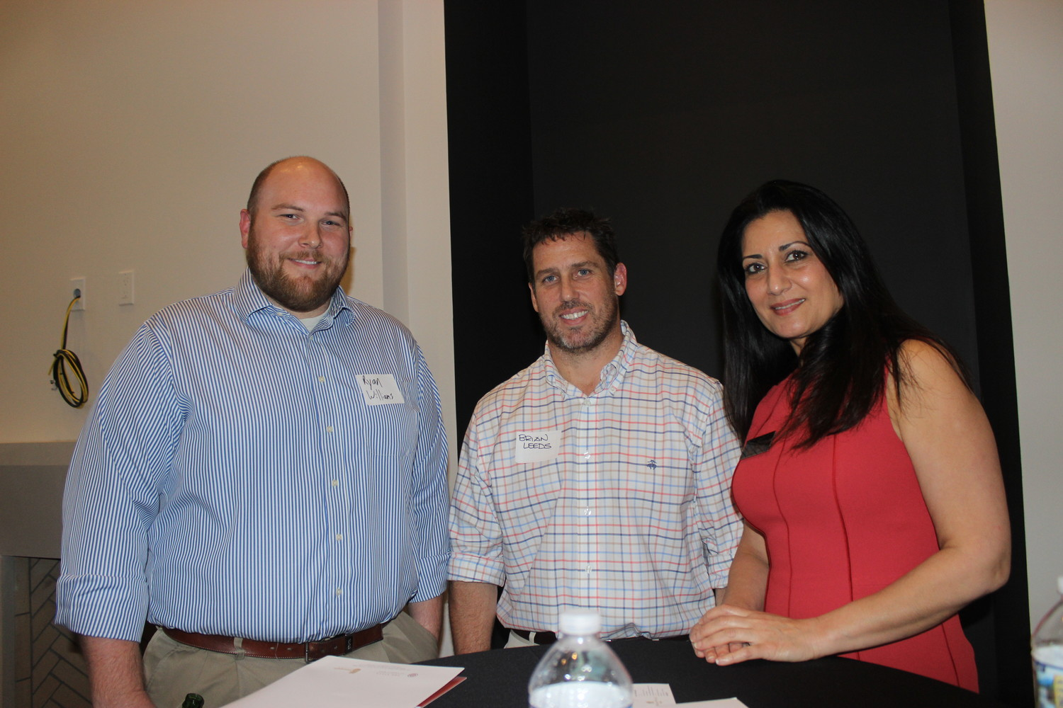 Ryan Williams, Brian Leeds and Nahid Sabet