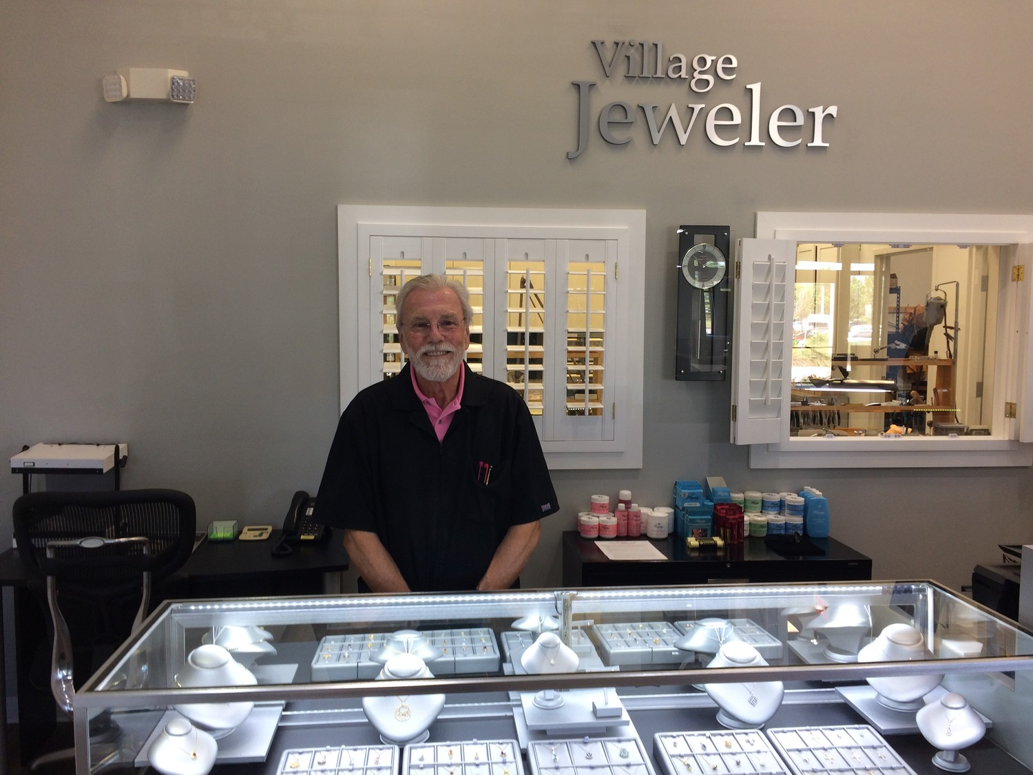 Village Jeweler owner Richard Felder