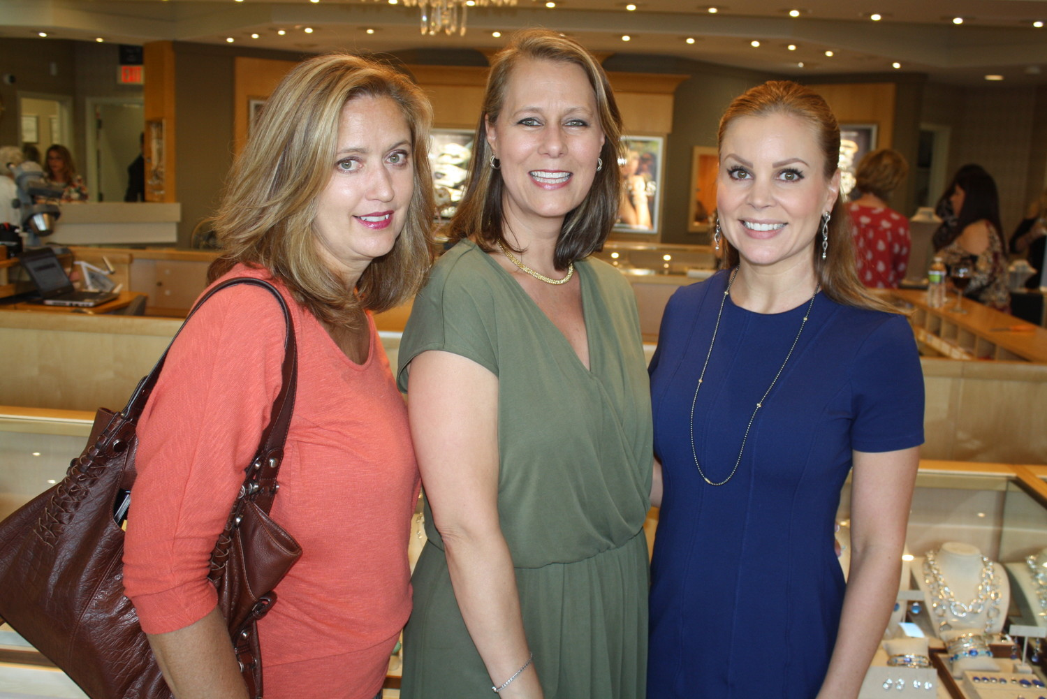 Dawn Frazier, Lisa Crouch and Melissa Abler