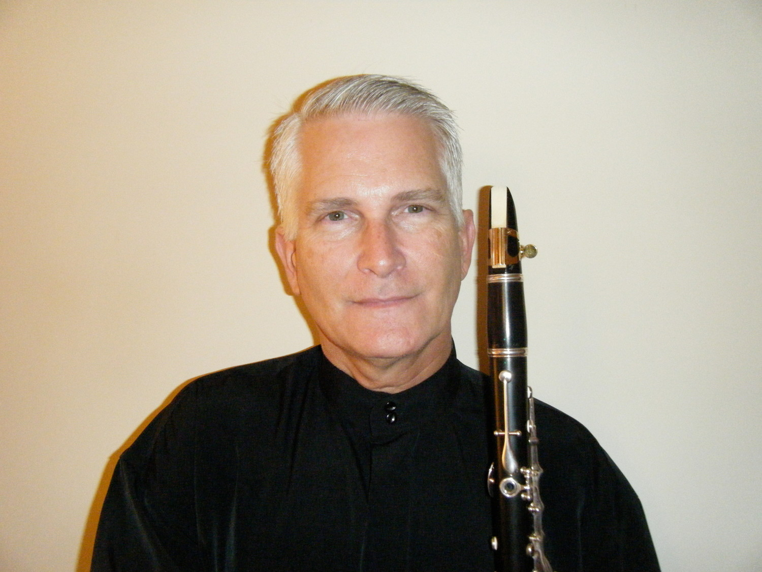 Clarinetist Peter Wright