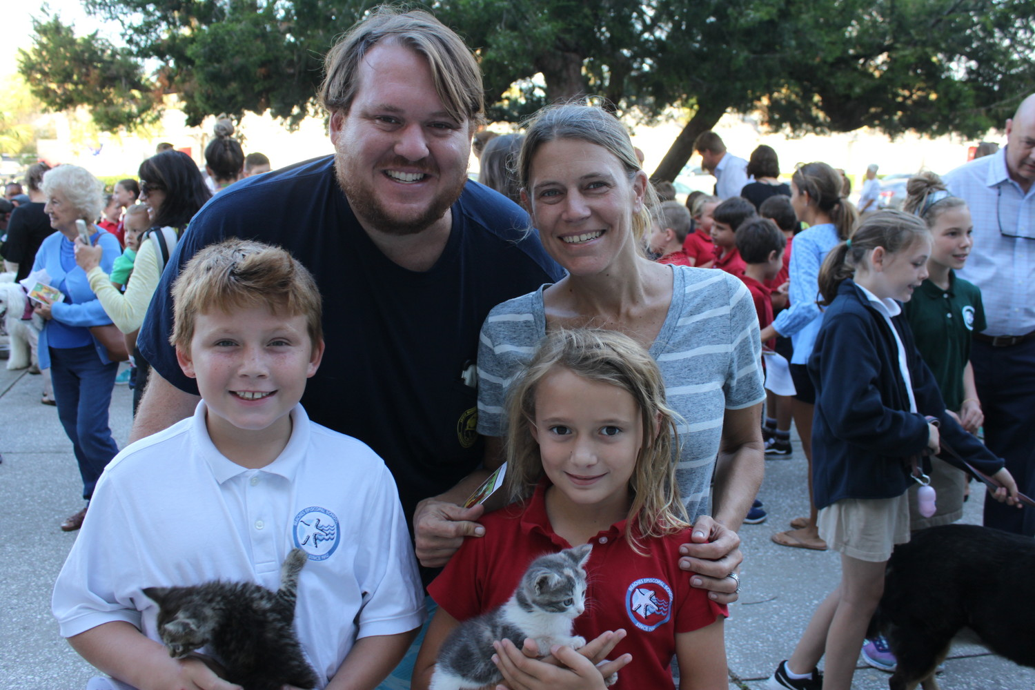 Families gather at Beaches Episcopal's annual event.