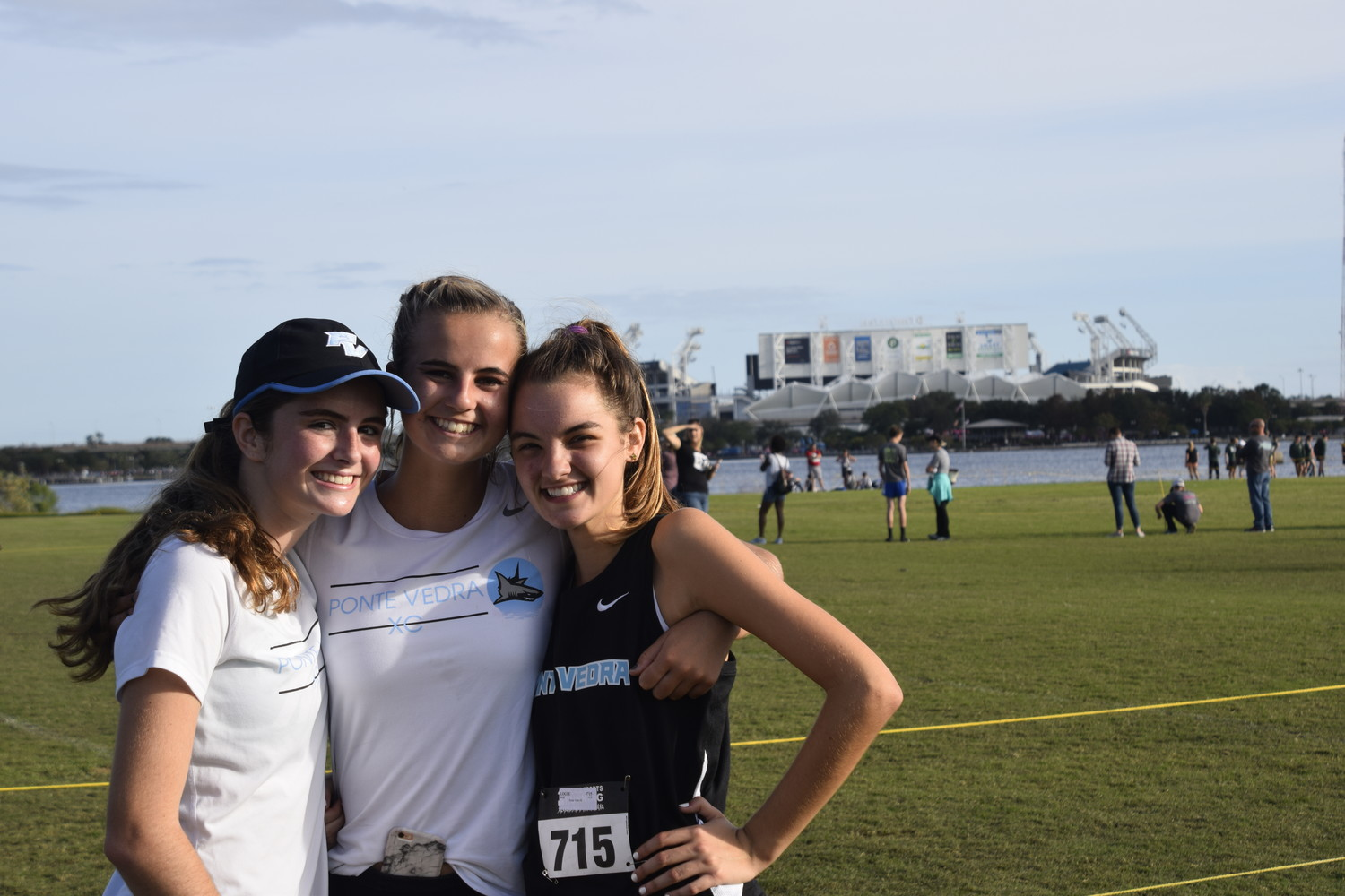 Livi Bowers, Riley Mayer and Mae Logue