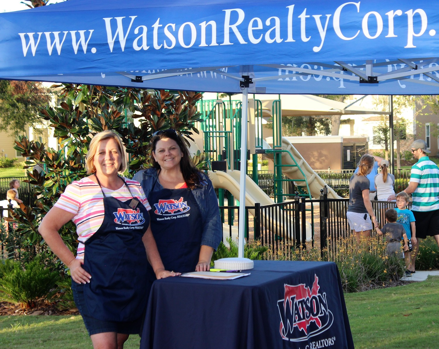 Marybeth Murray and Misty Phillips of Watson Realty Corp.