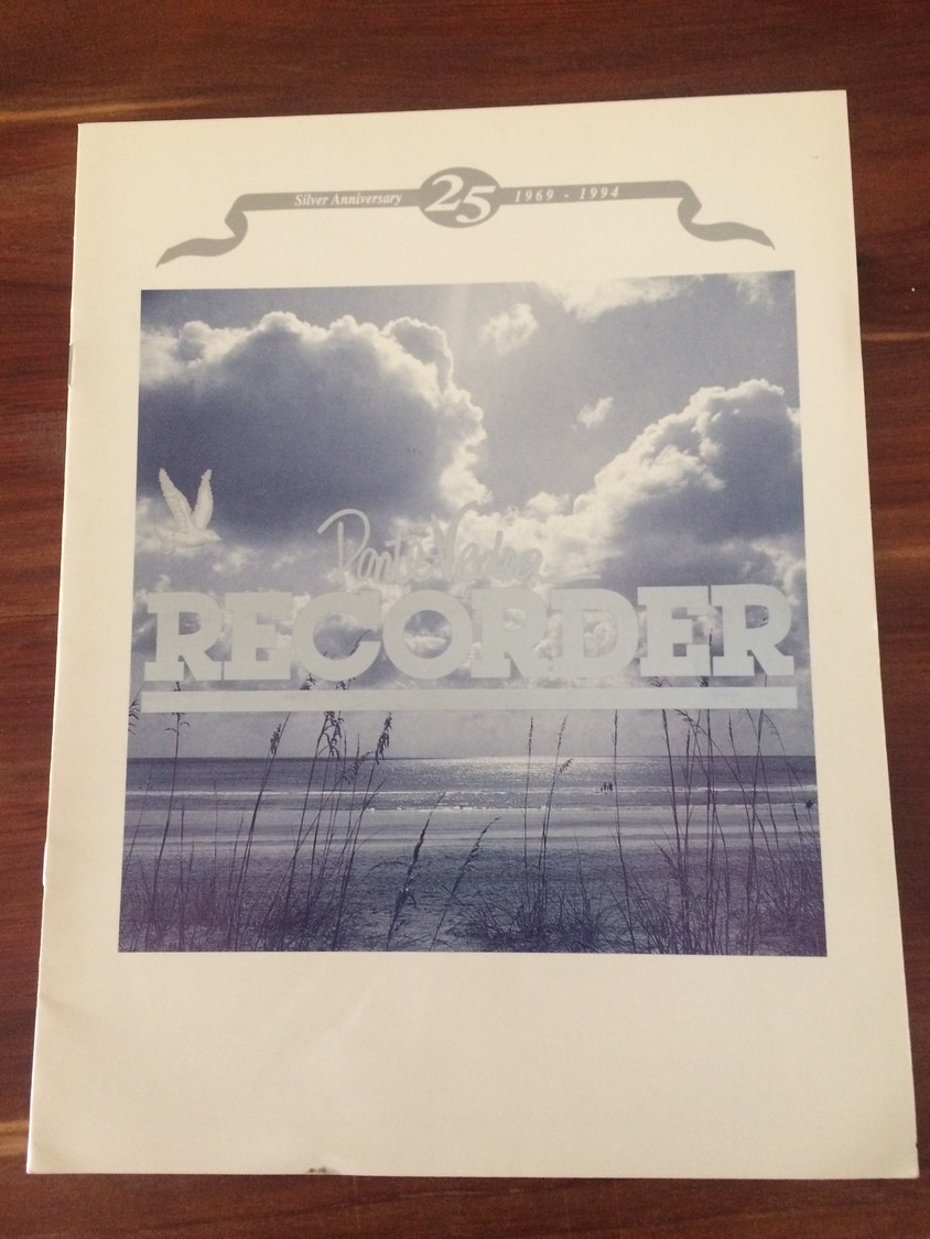 A publication celebrating the Ponte Vedra Recorder's 25th anniversary.