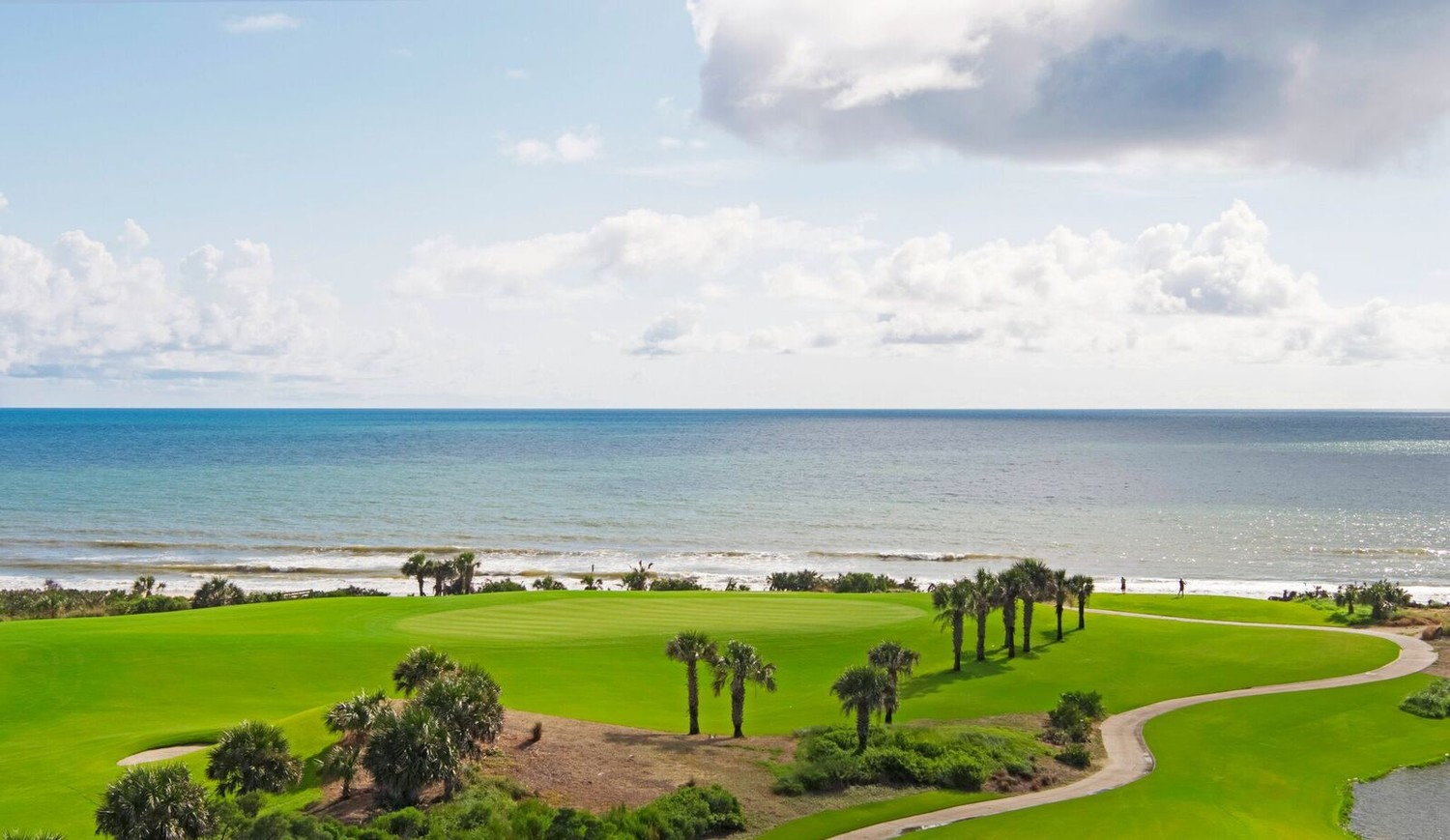The Ocean Course at Hammock Beach Resort now features new salt-tolerant greens, fairways and rough.