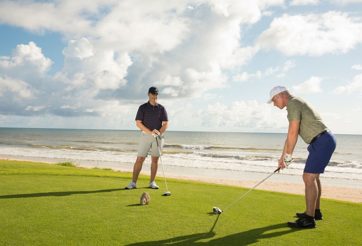 The famed Ocean Course at Hammock Beach Resort, a Jack Nicklaus Signature Design, is known for its proximity to the Atlantic Ocean.