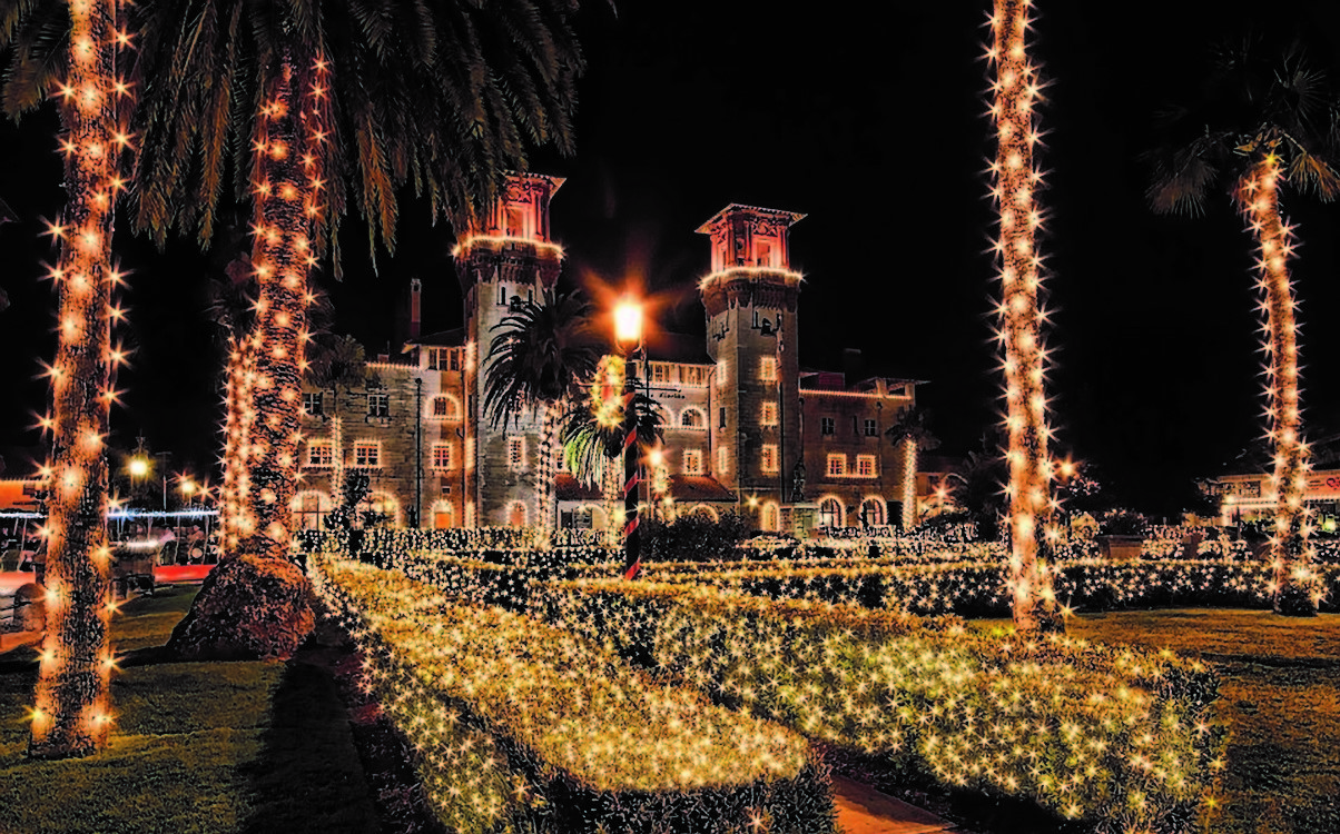 The Nights of Lights in St. Augustine is considered one of the best lighting displays in the world.