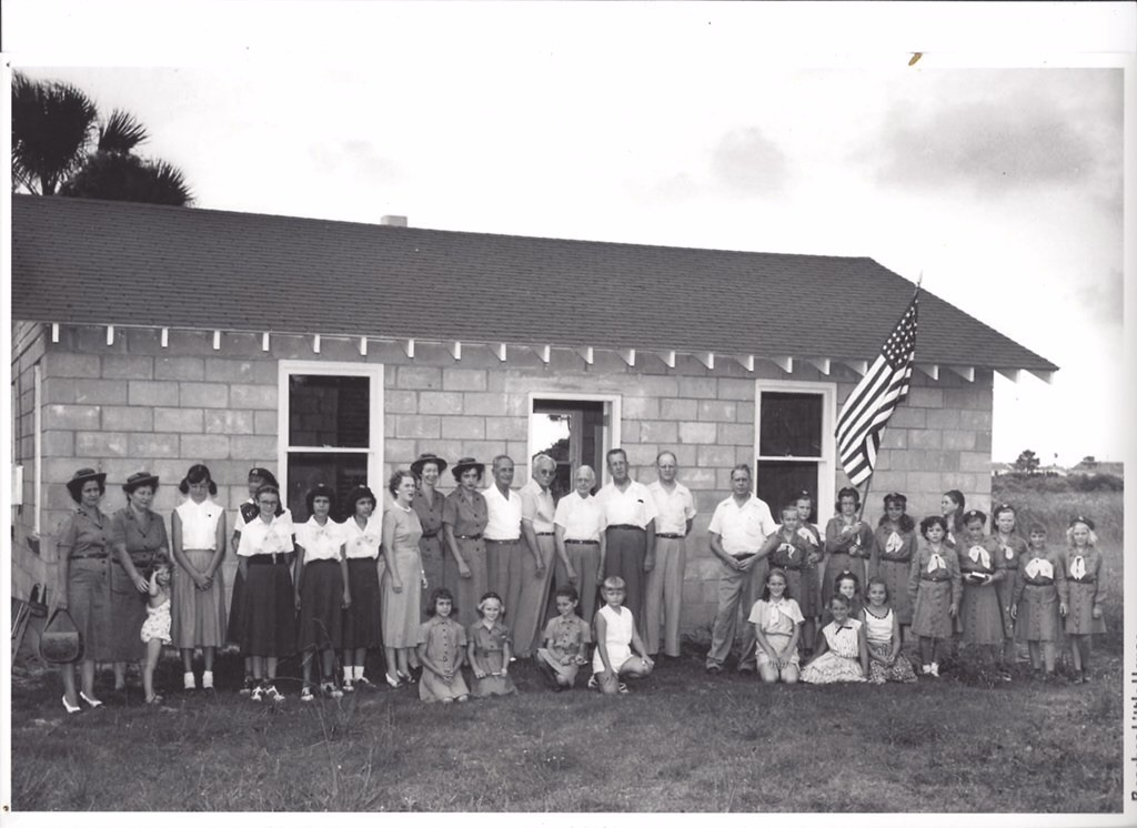 The Rotary Club of Jacksonville presented Beaches Little House to the Girl Scouts in 1952 (Historic file photo).