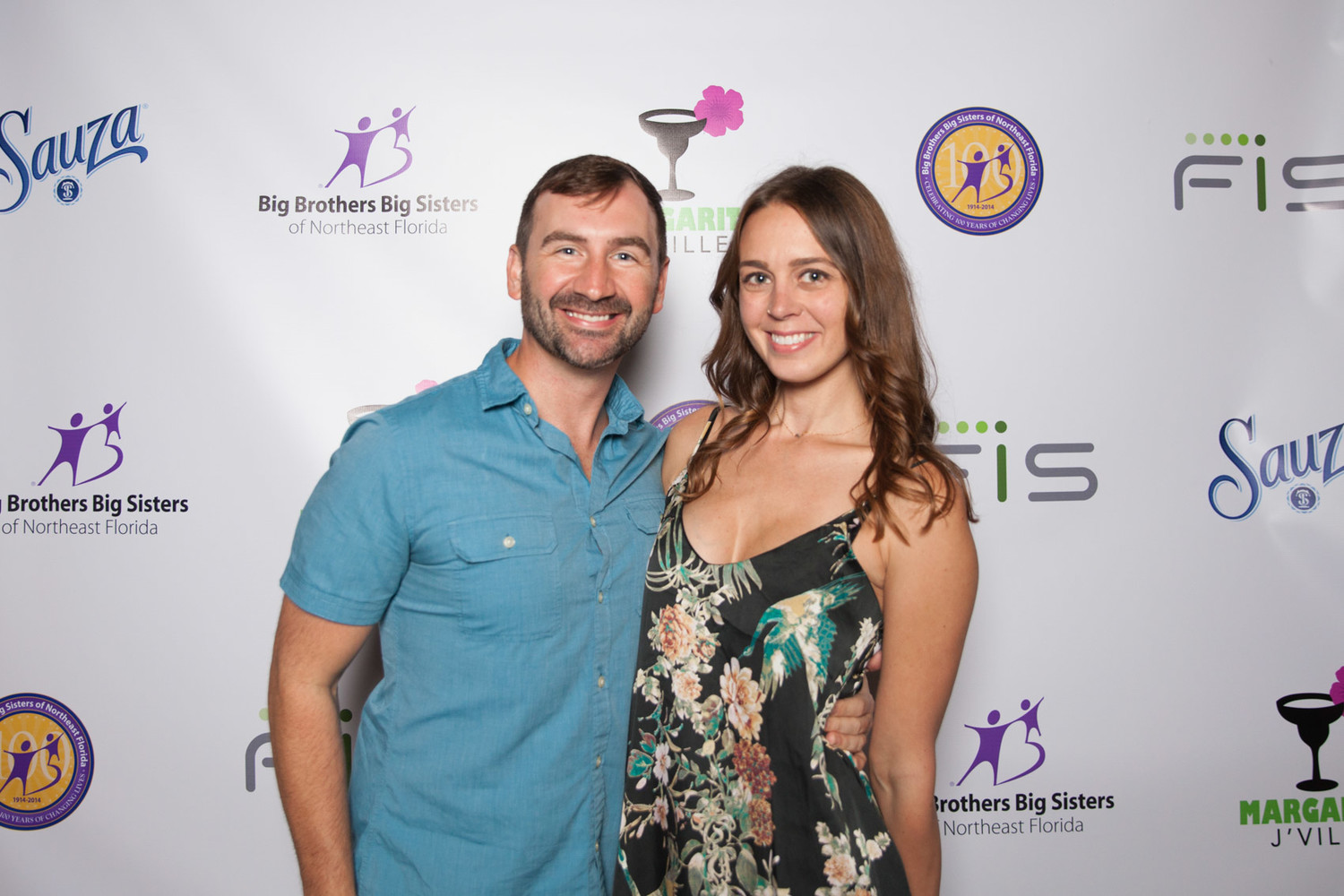 Event host Matt Pittman with guest Jaimee Yocum