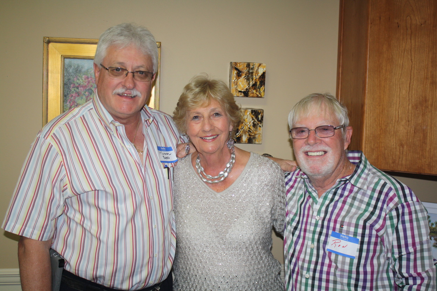 Michael Byrd, Marge Monteith and Ron Collins