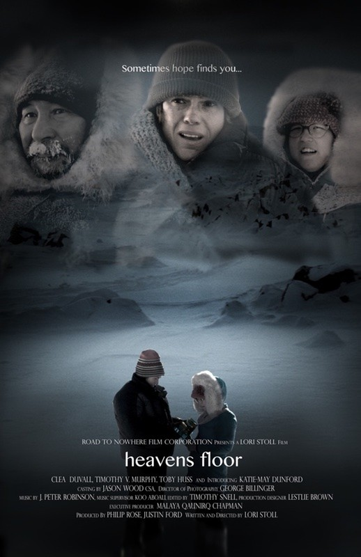 """Heaven's Floor,"" based on a true story of a female photographer who goes on an Arctic expedition and ends up alone on sea ice as the temperatures and nighttime fall, will be shown at the Lewis Auditorium Friday, Jan. 19 and at Gamache-Koger Theater Saturday, Jan. 20."