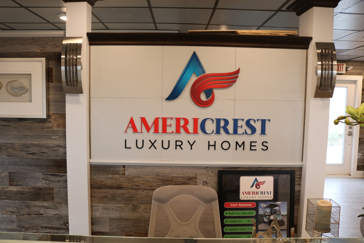 Americrest Luxury Homes is one of three builders at Beachwalk.