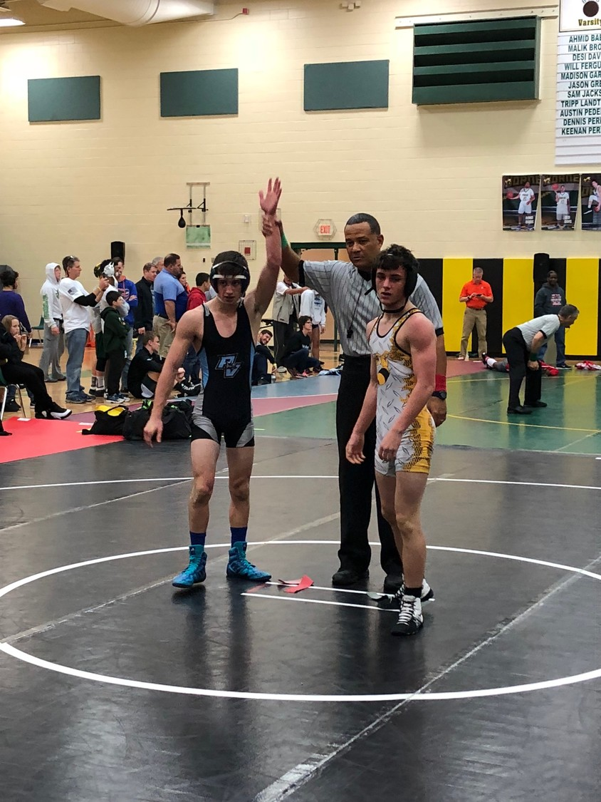 Ponte Vedra's Preston Turner places third in this past weekend's Battle of the Border tournament in Yulee. Gavin Riccobono and Evan Merry both placed second.
