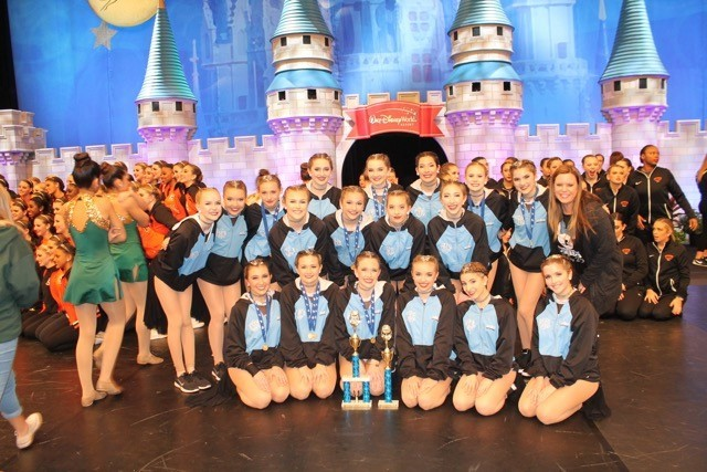 The Ponte Vedra High School Dance Team, the Splash, recently placed second in hip hop and third in jazz at the Universal Dance Association Florida competition. Led by coach Tracy Fordham and assistant coach Brittany Snyder, the team is only in its second year of competition.